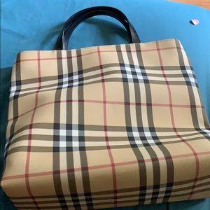 Authentic Burberry London medium handbag